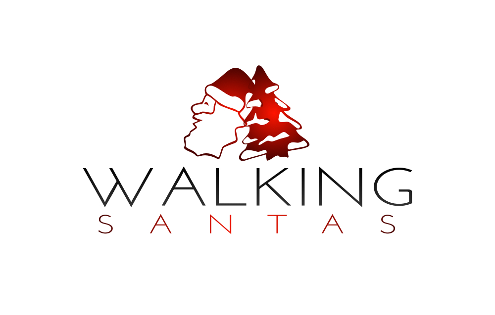 Walking Santas Logo